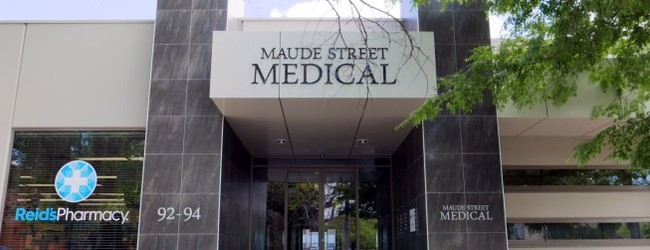 Maude St Medical Entrance